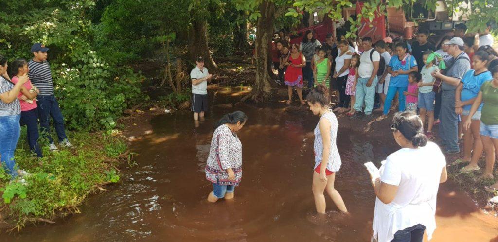 Batismos nas Águas 2019